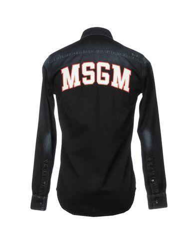 Msgm Denim Shirt forsyning for salg 7GTibd5WY