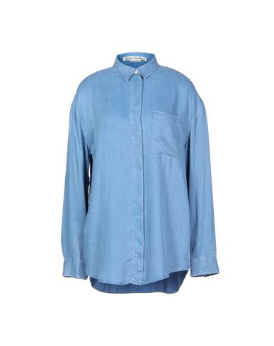 b9b76126f4 Acne Studios Denim Shirt - Women Acne Studios Denim Shirts online on ...