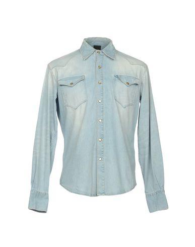 klaring real (+) Mennesker Denim Shirt billig populær offisiell side gratis frakt footlocker H00Uwav