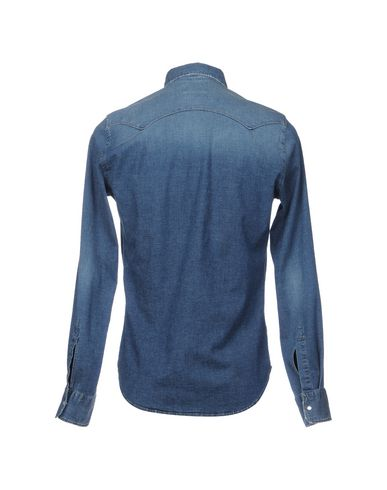 klaring målgang billig nettbutikk Manchester Guya G. Guya G. Camisa Vaquera Denim Shirt salg 2014 nye utløpstilbud KdYYQW8b