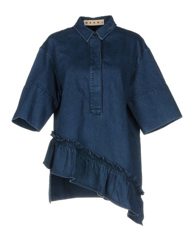 Women Yoox Marni Denim Shirts Belgium Shirt Online On fvb6gyY7