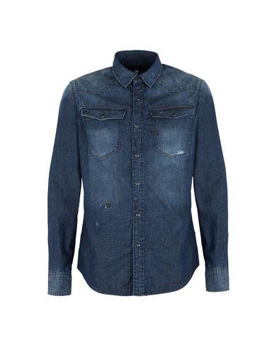 adc19f93a05 G-Star Raw Denim Shirt - Men G-Star Raw Denim Shirts online on YOOX ...