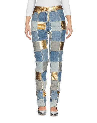 MOSCHINO - Denim trousers