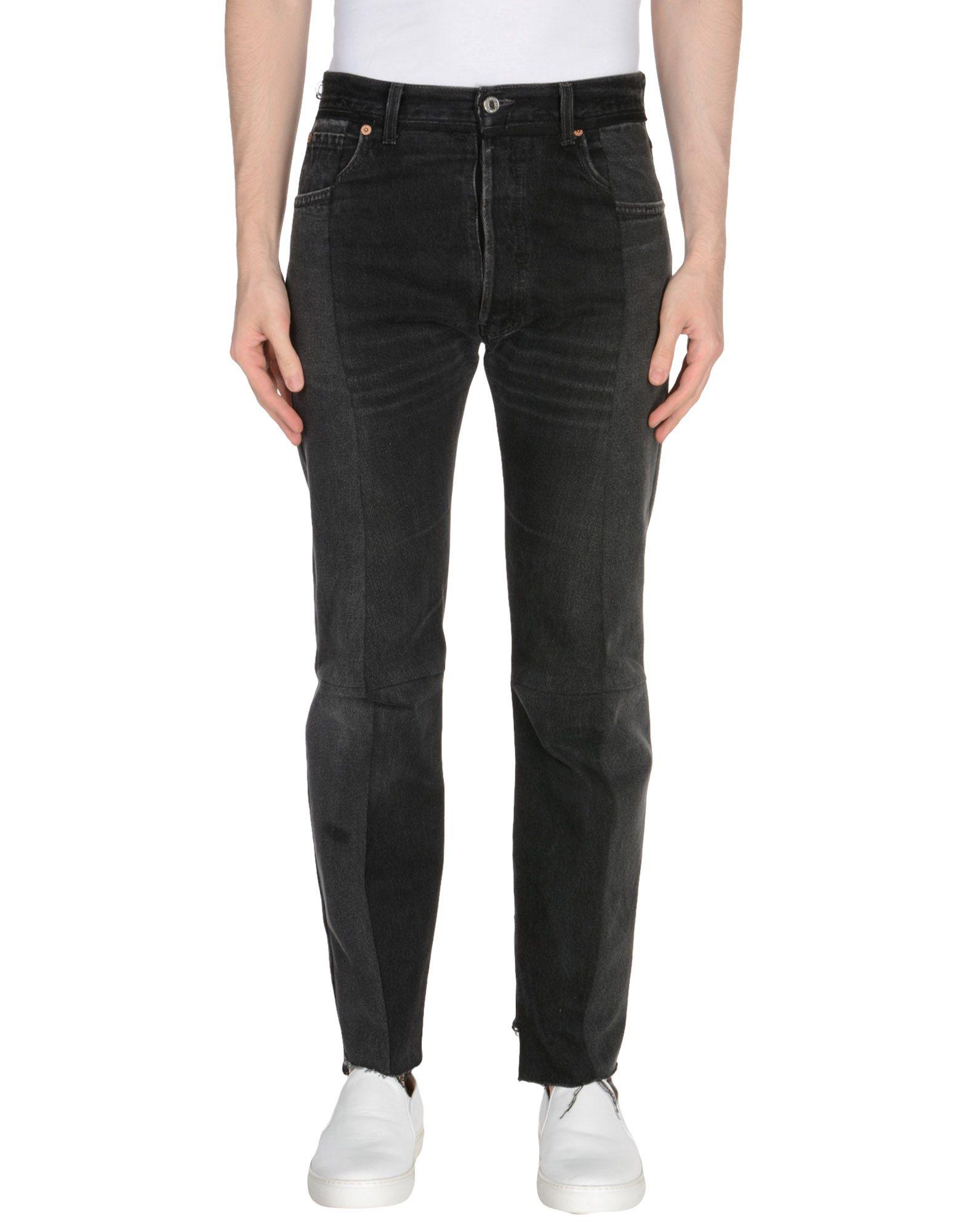 Pantaloni Jeans Vetements X Levis Donna - Acquista online su