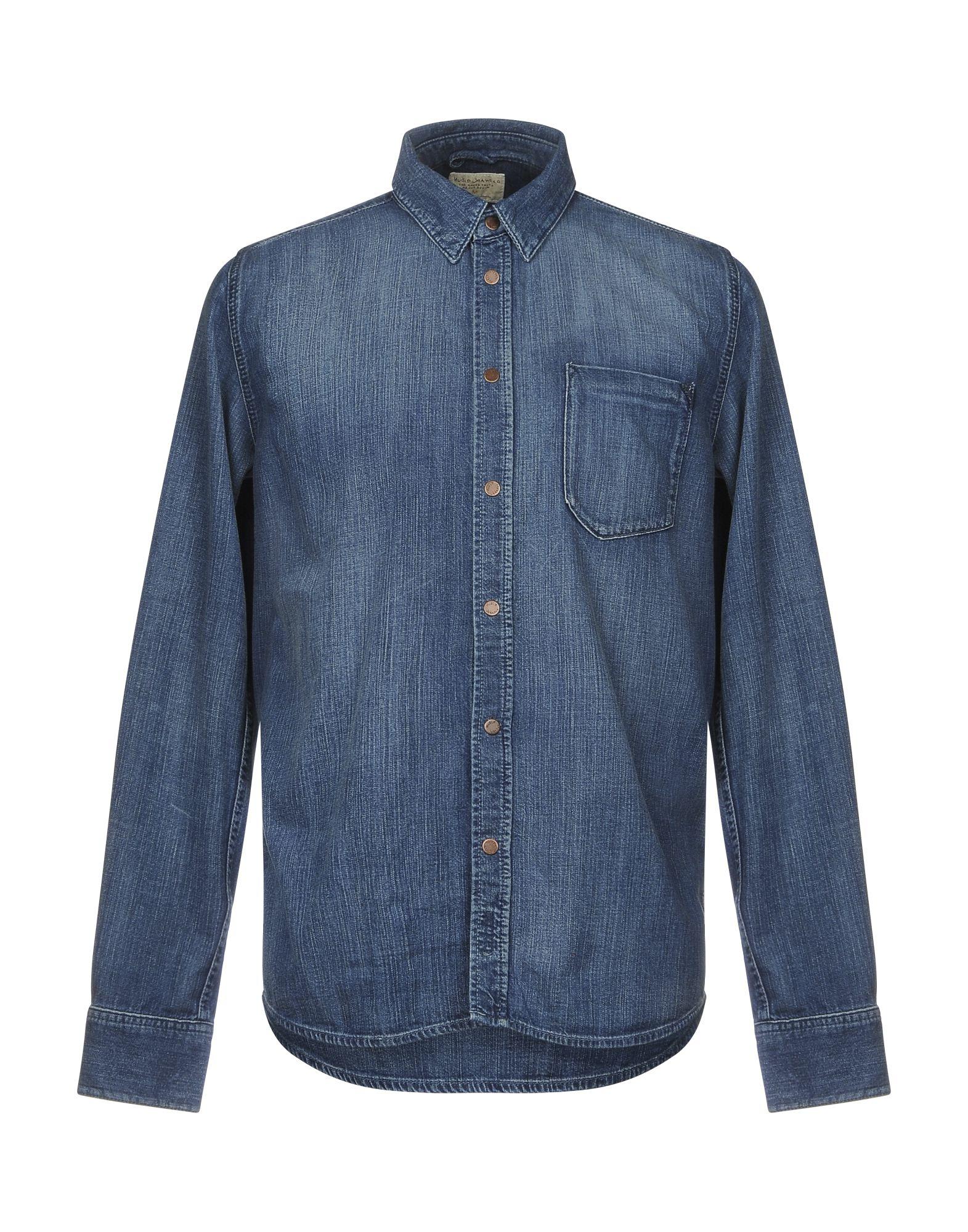 Camicia 42645907KD Jeans Nudie Jeans Co Uomo - 42645907KD Camicia 2c1fd0