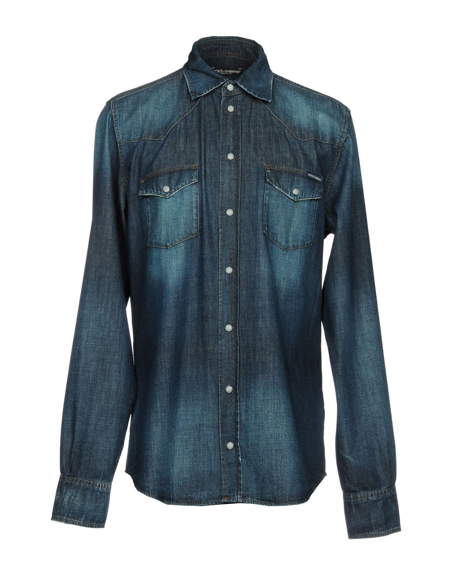 Camicia Jeans Dolce & Gabbana Uomo - Acquista online su