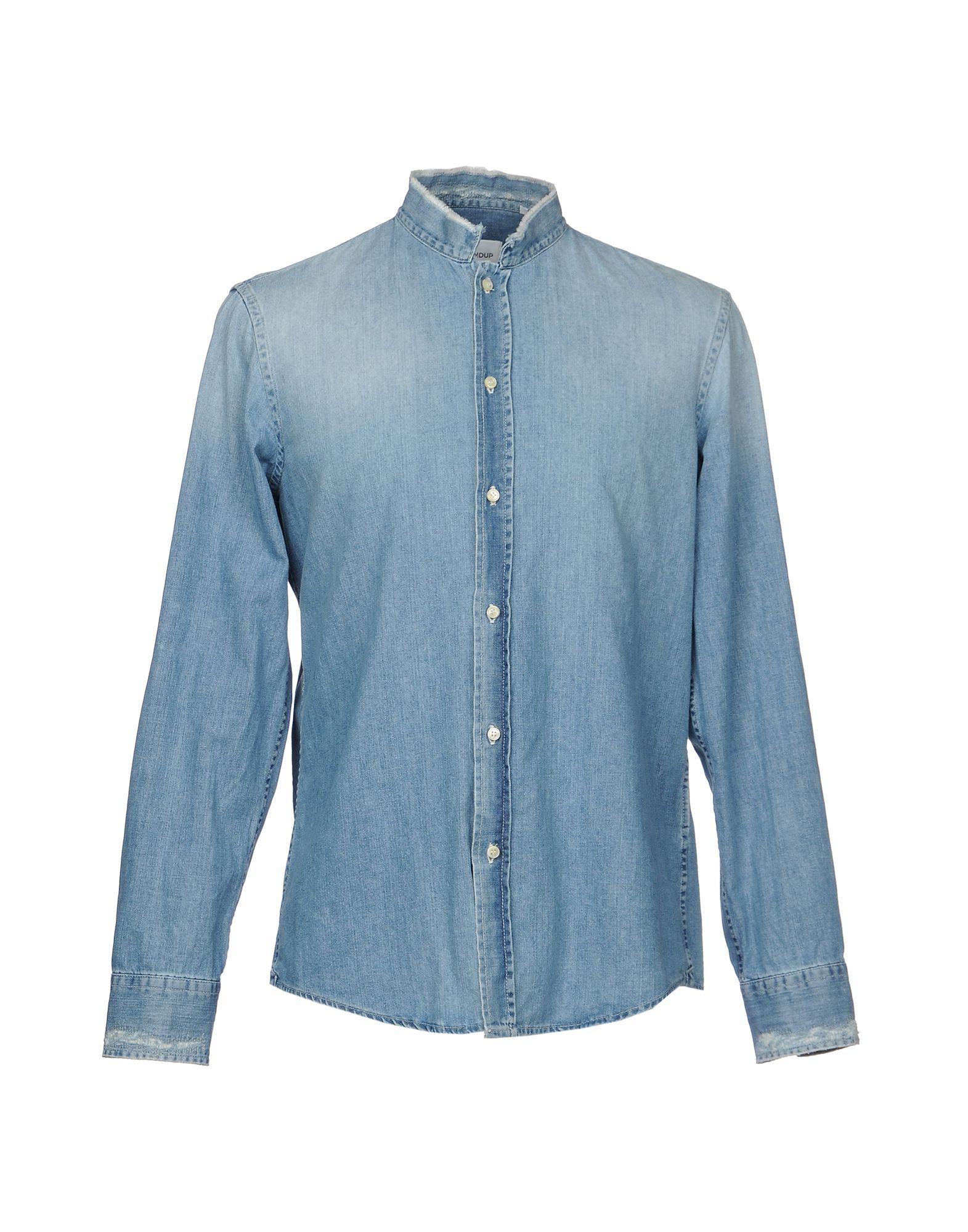 Camicia Jeans Dondup Uomo - Acquista online su