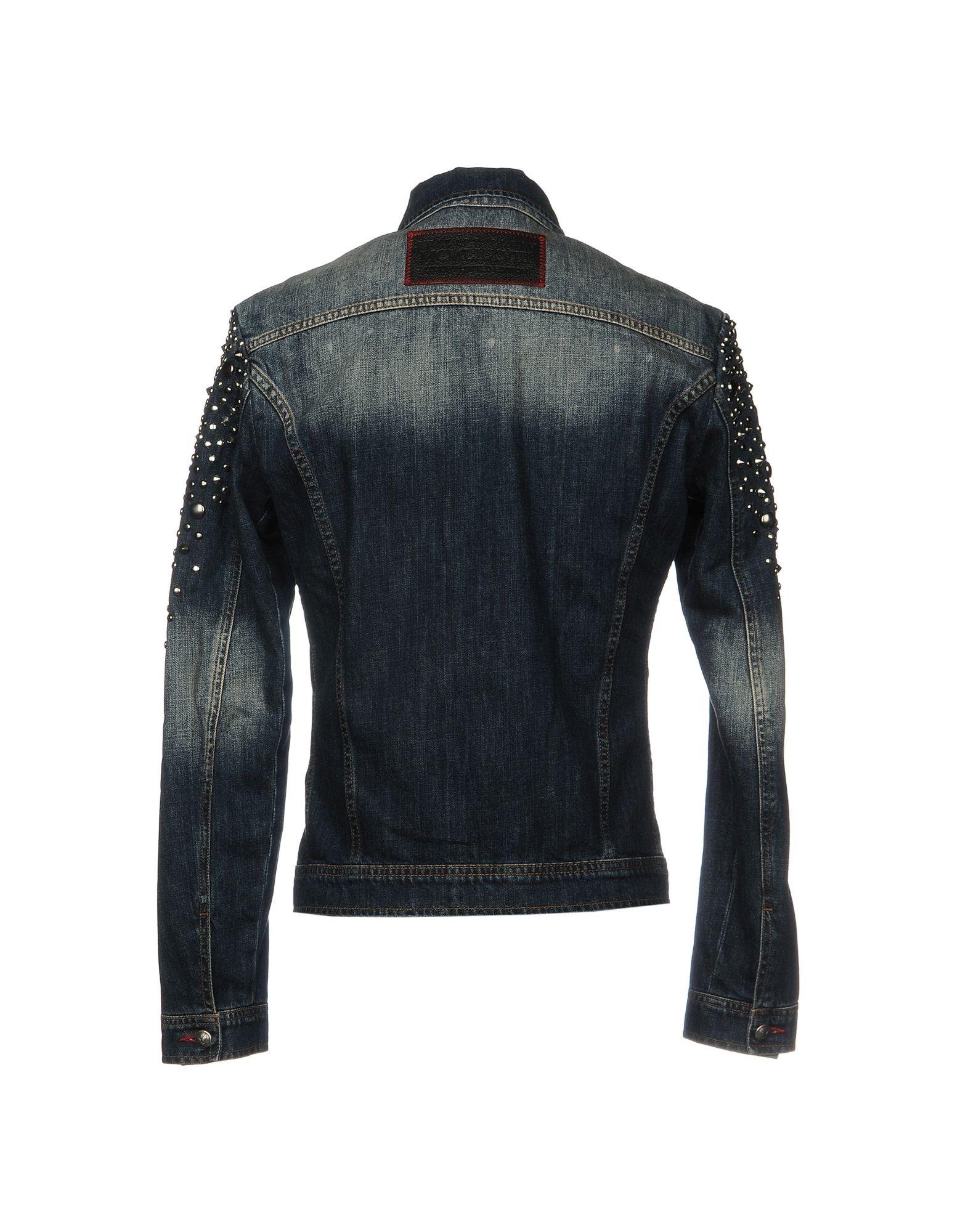 Giubbotto Jeans Jeans Giubbotto Philipp Plein Uomo - 42646988RJ 656918