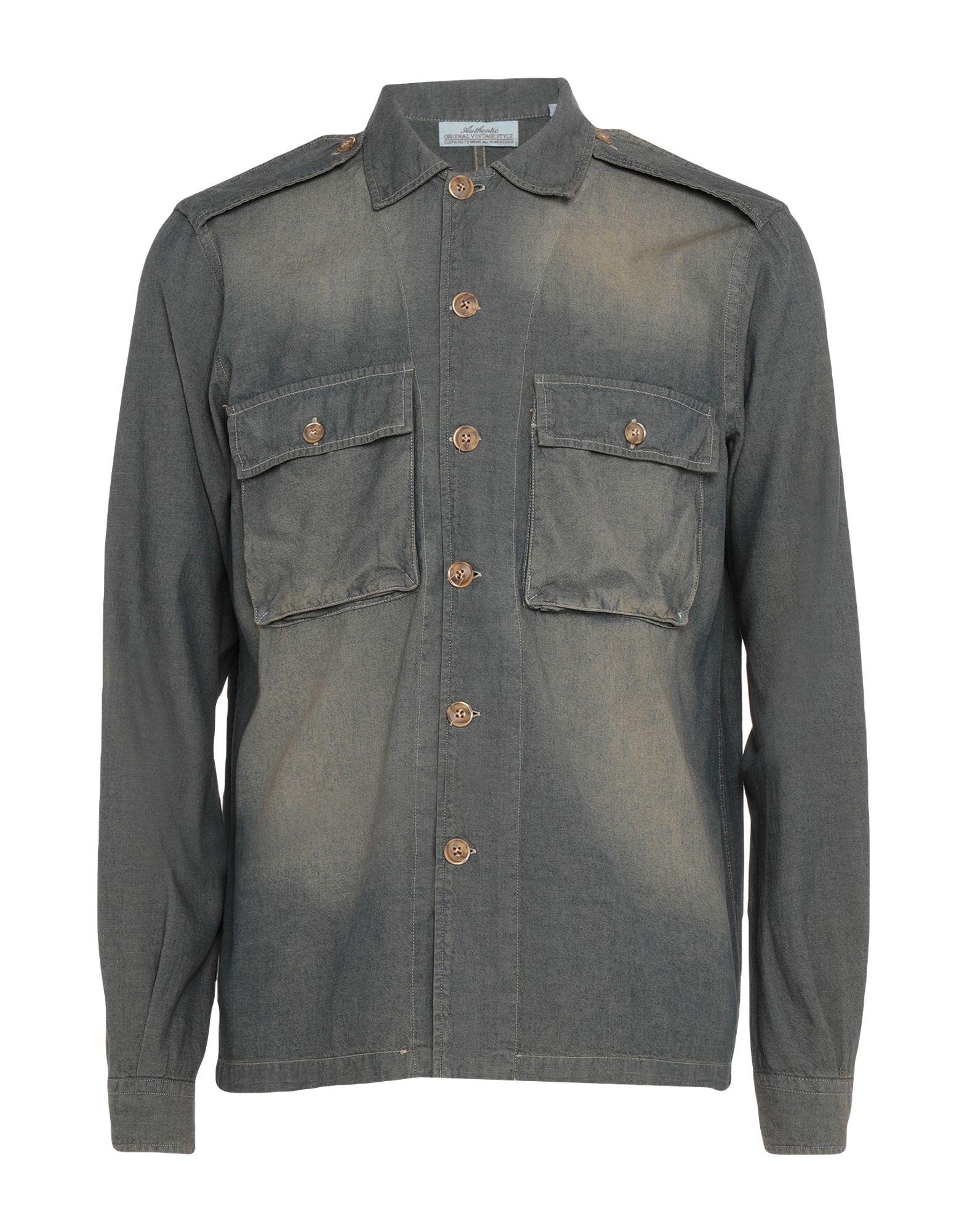 Camicia 42648134AN Jeans autentico Original Vintage Style Uomo - 42648134AN Camicia fffd21
