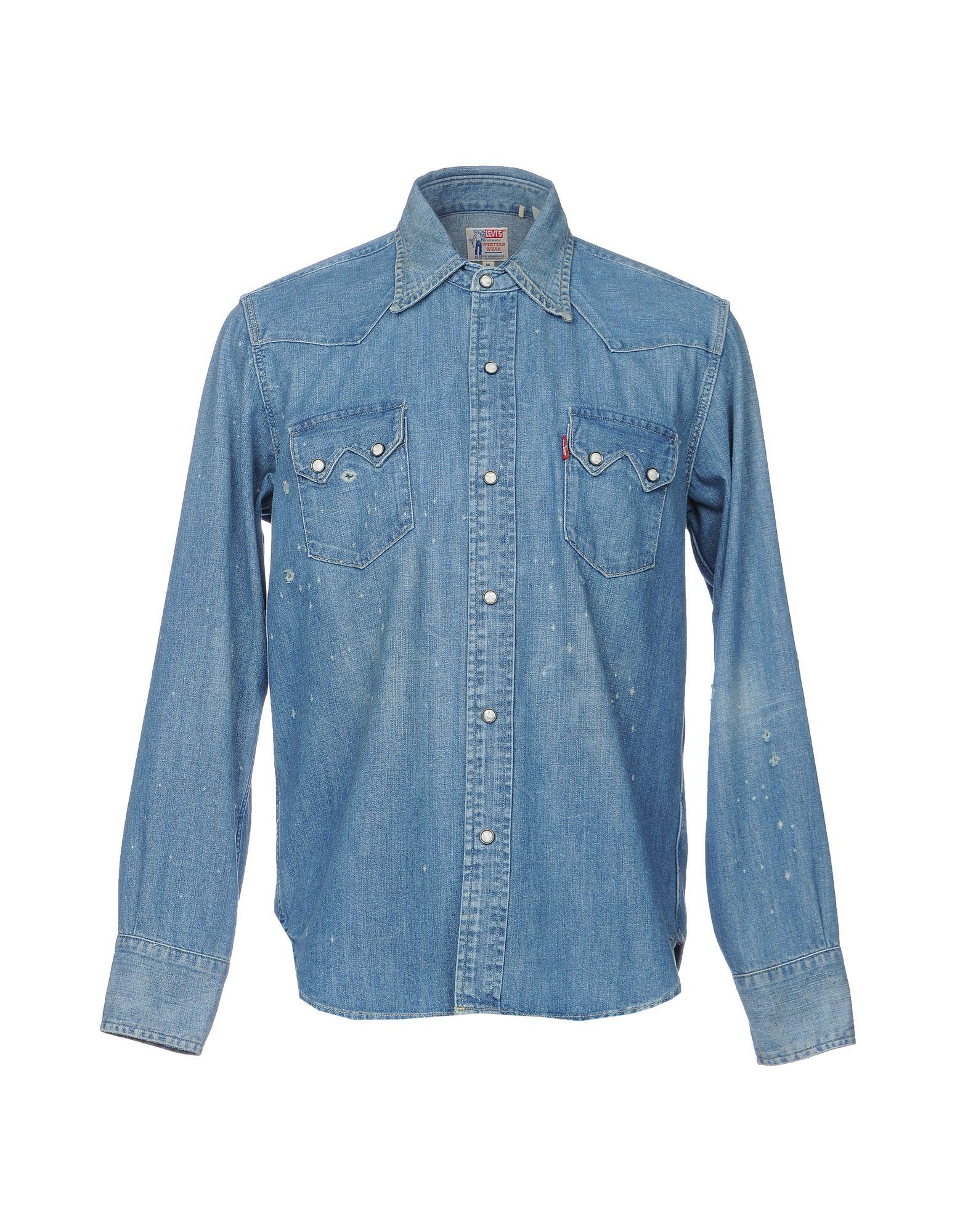 Camicia Jeans Levis Vintage Clothing Uomo - Acquista online su