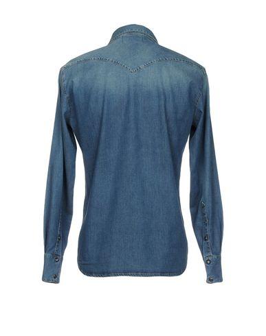 Dongeri Skjorte Klok Fyr offisielle billig pris virkelig for salg oWKFxZ2I