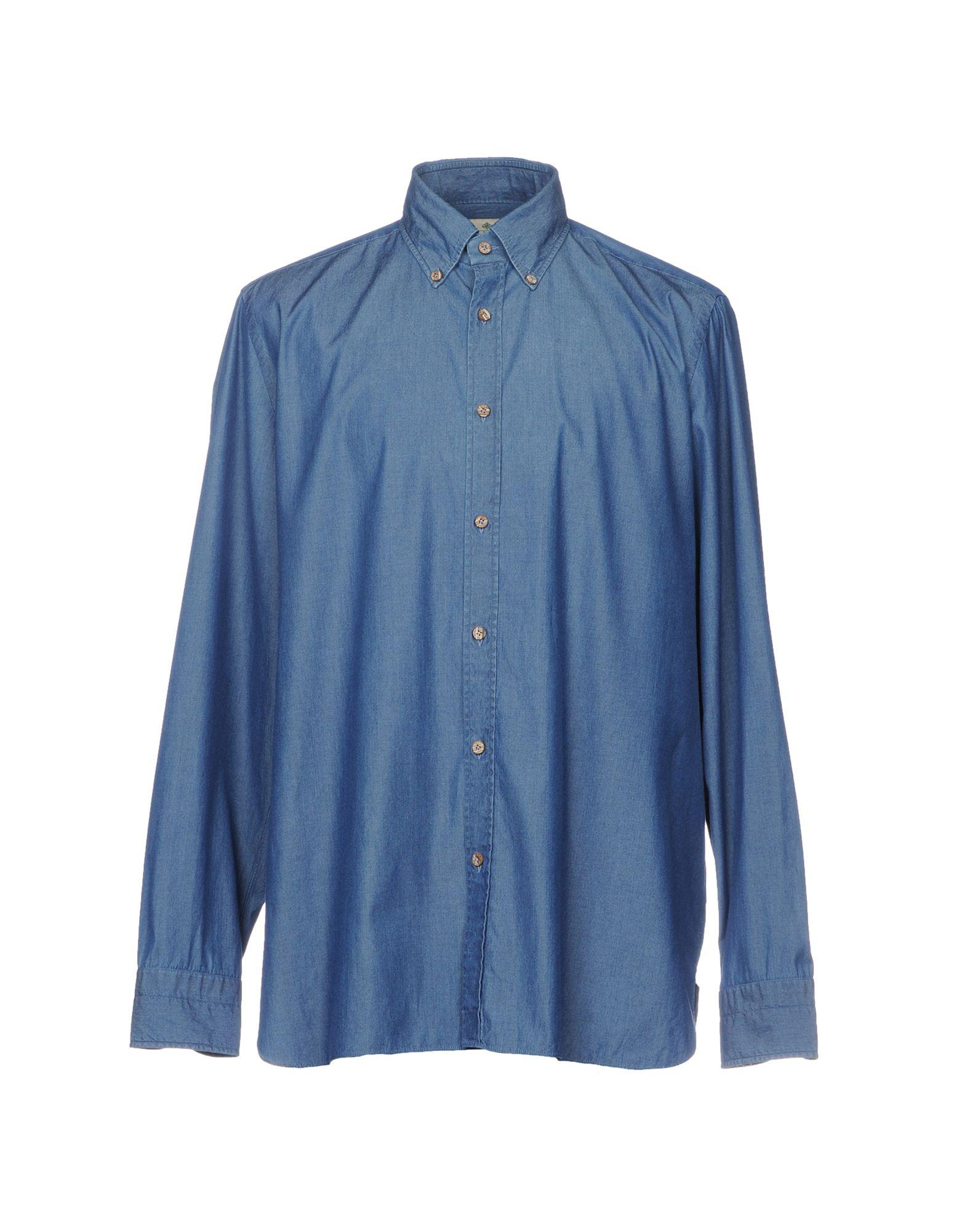 Camicia Jeans Luigi Borrelli Napoli Uomo - Acquista online su