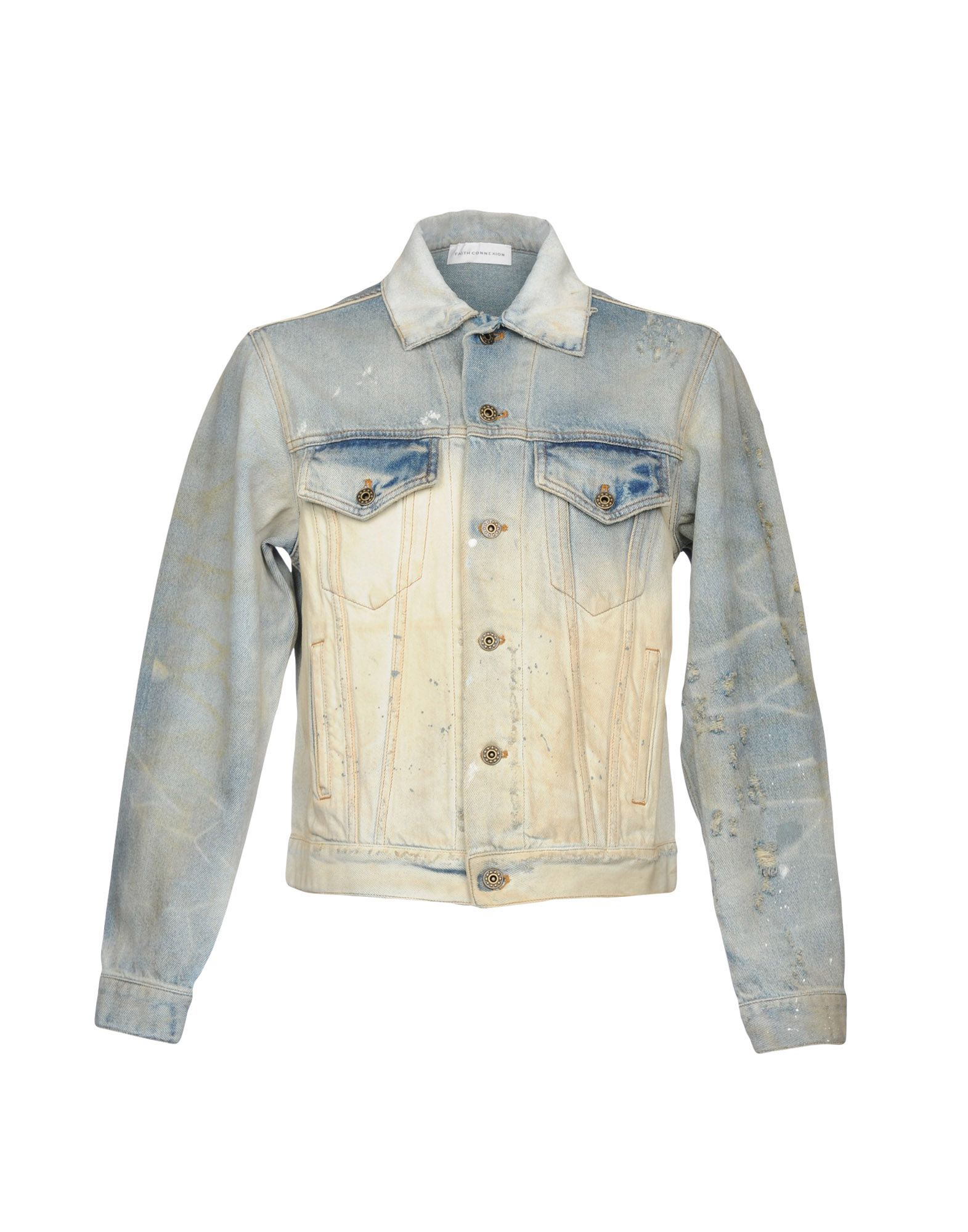Giubbotto Jeans Faith Connexion Uomo - Acquista online su