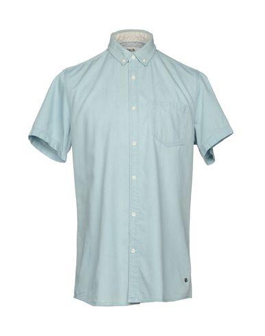 !SOLIDデニムシャツ