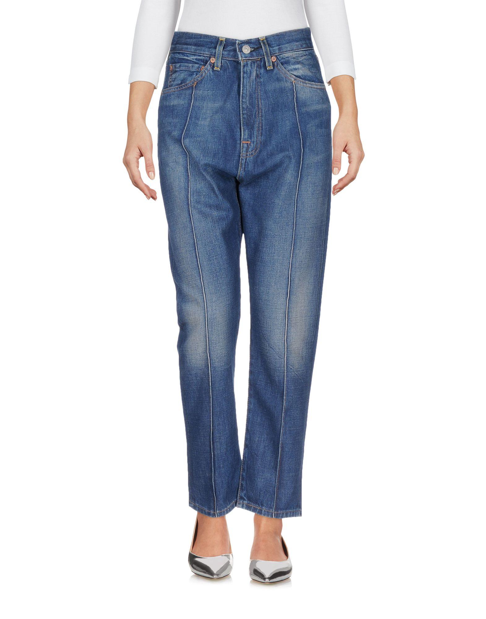 Pantalons Levi FemmeAcheter À Jeans Rouge En Patte Ligne cRjS5AL34q