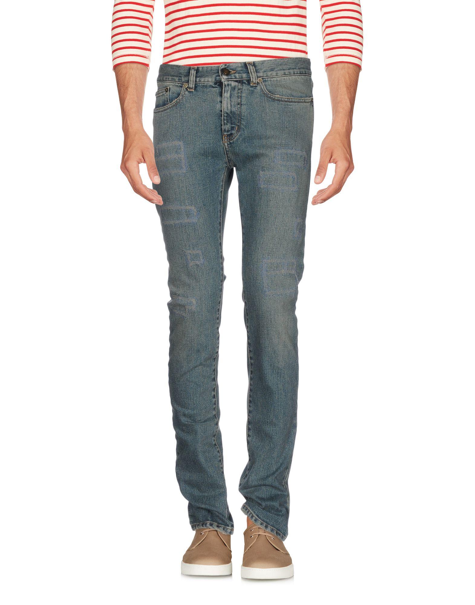 Pantaloni Jeans Saint Laurent Uomo - Acquista online su