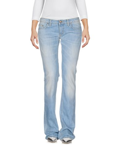 Pants for Women On Sale, Light Blue, Cotton, 2017, 26 28 Dondup