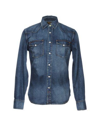 gratis frakt falske lav pris online Jean Butikk Denim Shirt salg rimelig BFaBiE