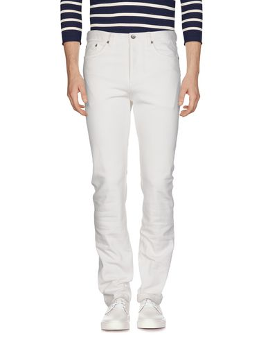 ALBAM Denim Pants in White