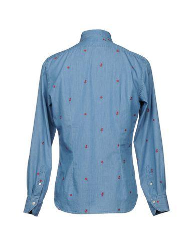 Xacus Denim Shirt alle årstider tilgjengelige AlzwkzRoHO