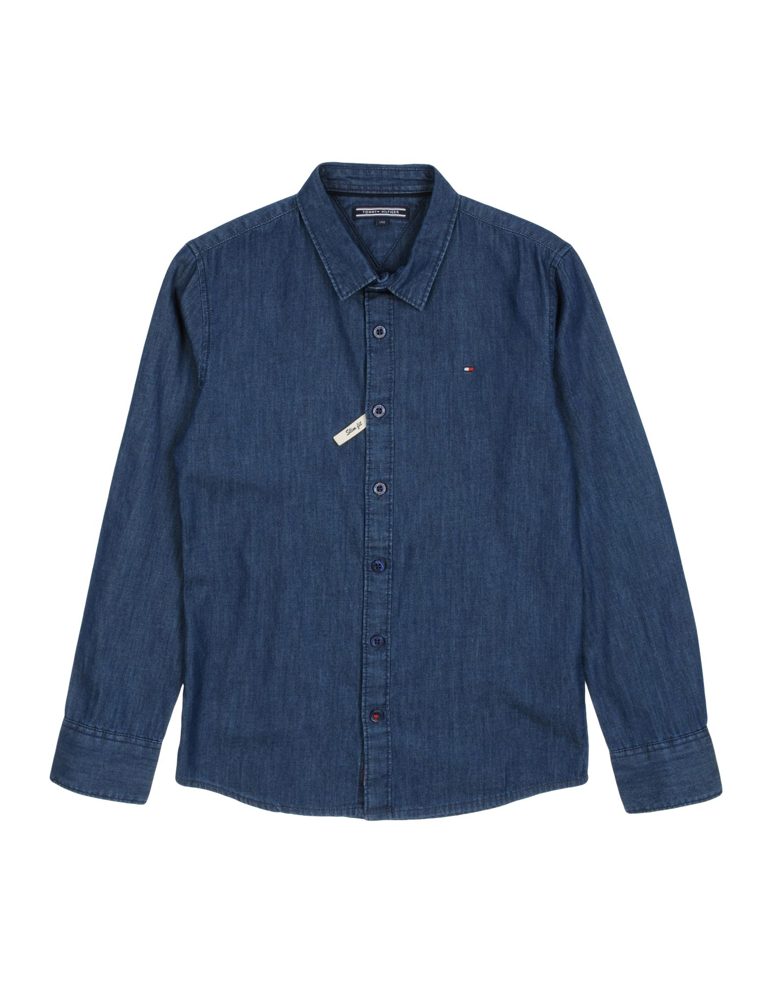 b47c6f7a Tommy Hilfiger Denim Shirt Boy 9-16 years online on YOOX Norway