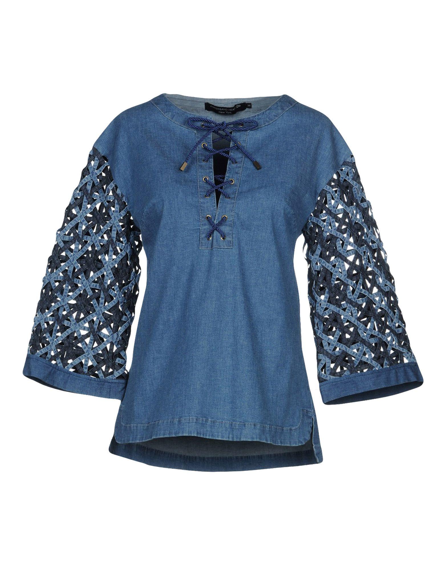 Camicia Jeans Ampersand Heart New York Donna - Acquista online su z0IlTF9X