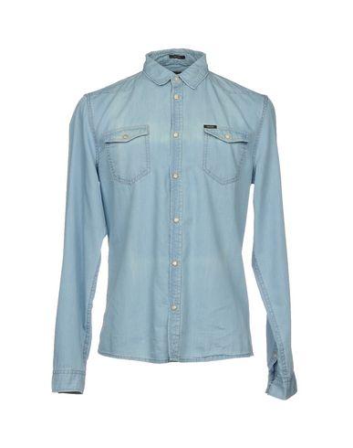 7a3f344ee28 Guess Denim Shirt - Men Guess Denim Shirts online on YOOX United ...