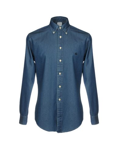 prisene på nettet gratis frakt kjøpet Brooks Brothers Camisa Vaquera a8tNe