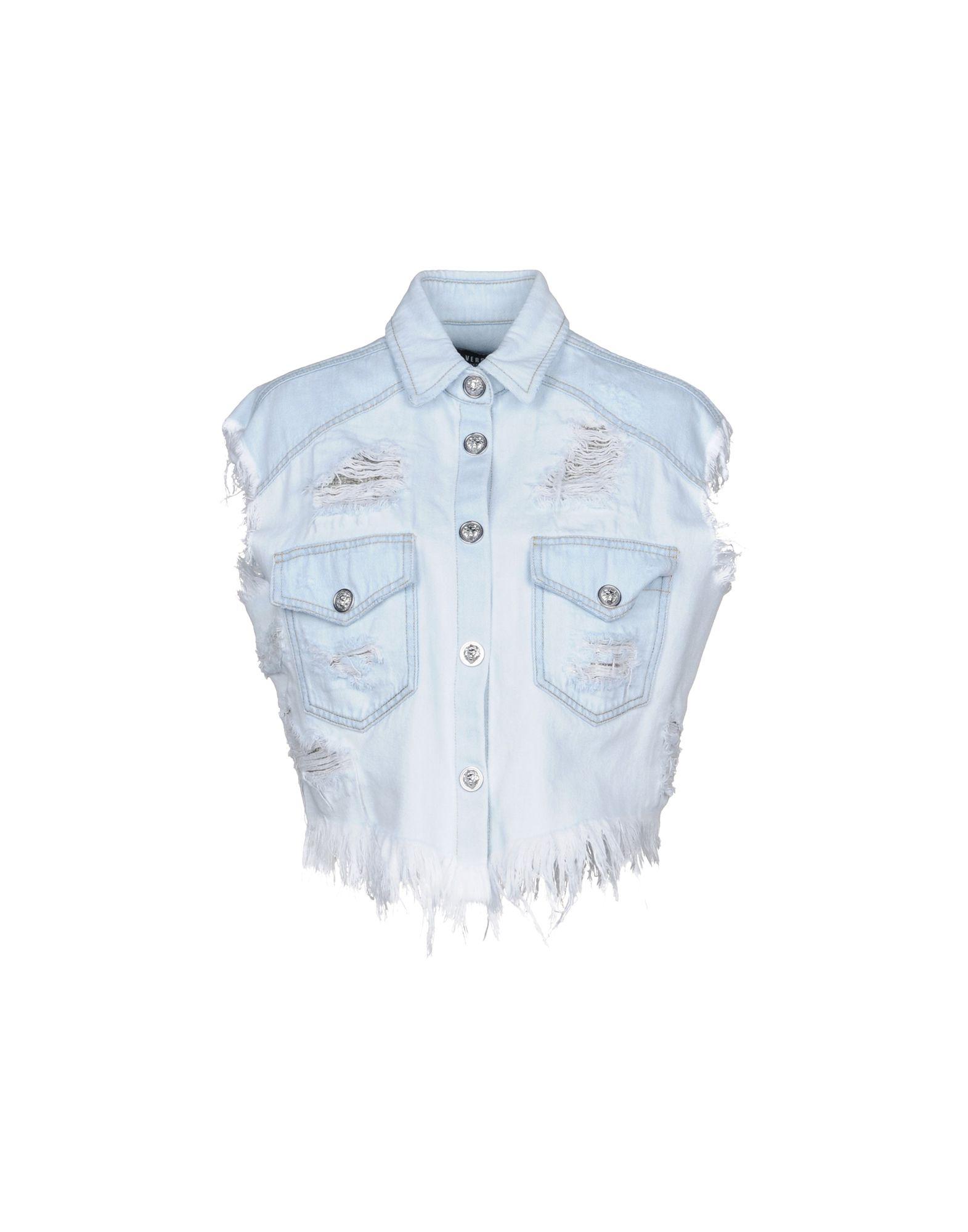 Giubbotto Jeans Versus Versace Donna - Acquista online su 0wmZceu
