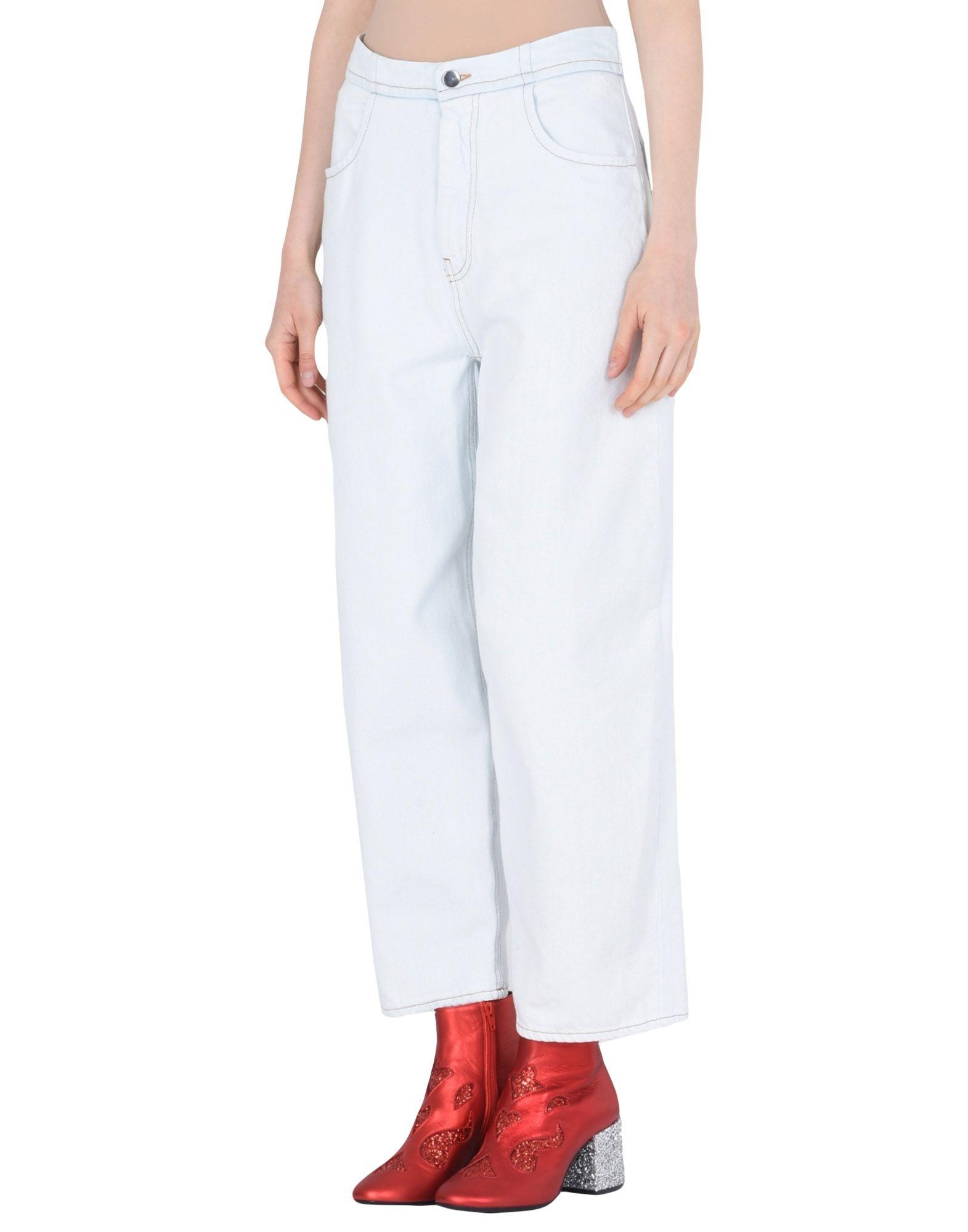 Pantaloni Jeans Mm6 Maison Margiela Donna - Acquista online su 96pABO