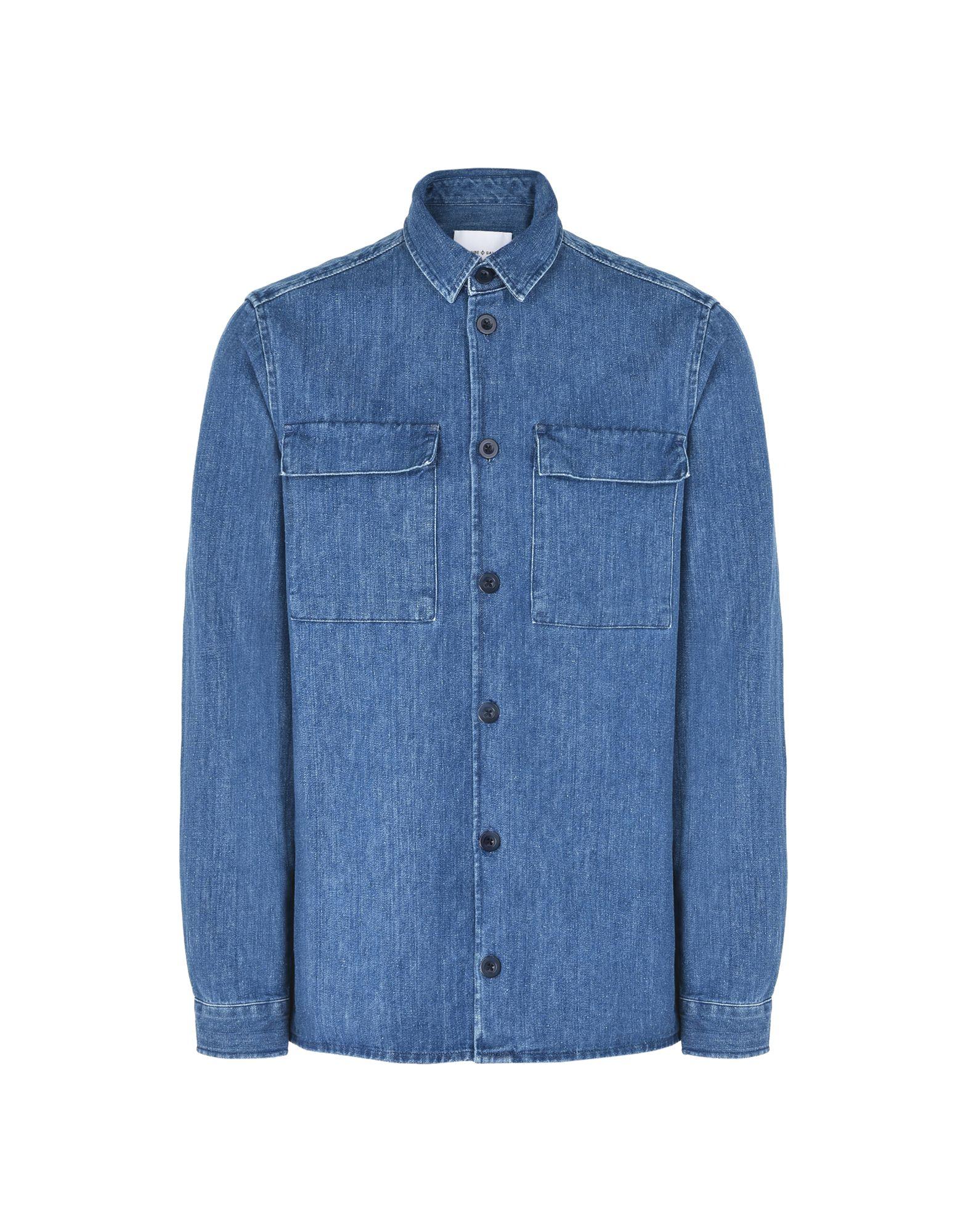 Camicia Jeans Samsøe Φ Samsøe Marlon Nr  9526 - Uomo - Acquista online su