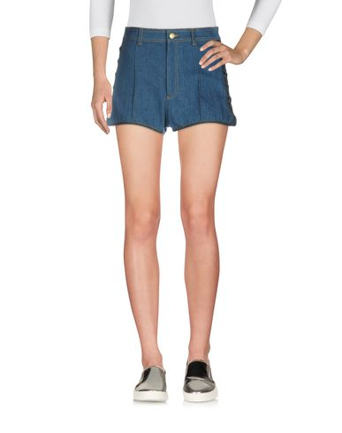 ALEXANDER MCQUEEN - Denim shorts