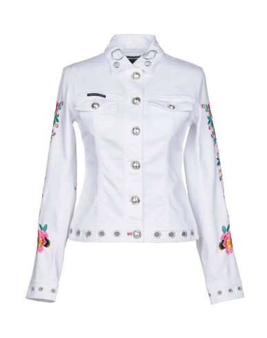 6449c198a Philipp Plein Denim Jacket - Women Philipp Plein Denim Jackets ...