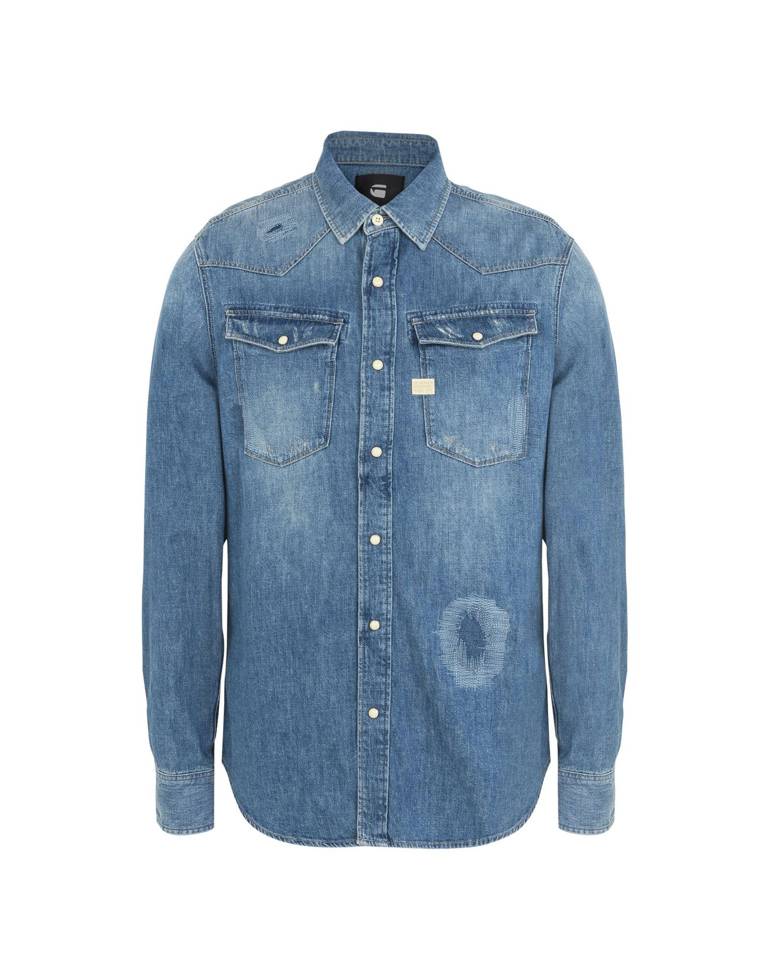 Camicia Jeans G-Star Raw Uomo - Acquista online su