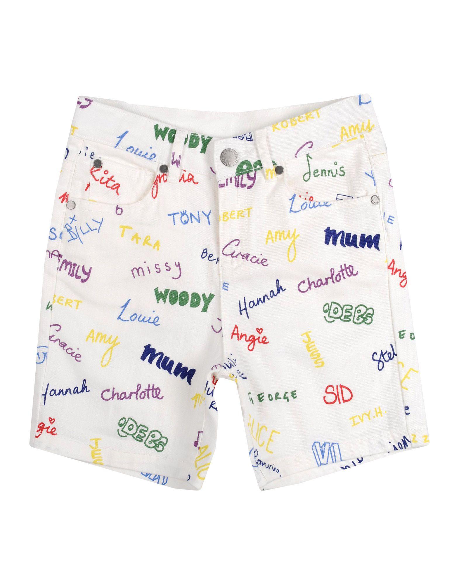 6029f1c705dc Stella Mccartney Kids Denim Shorts Girl 3-8 years online on YOOX ...