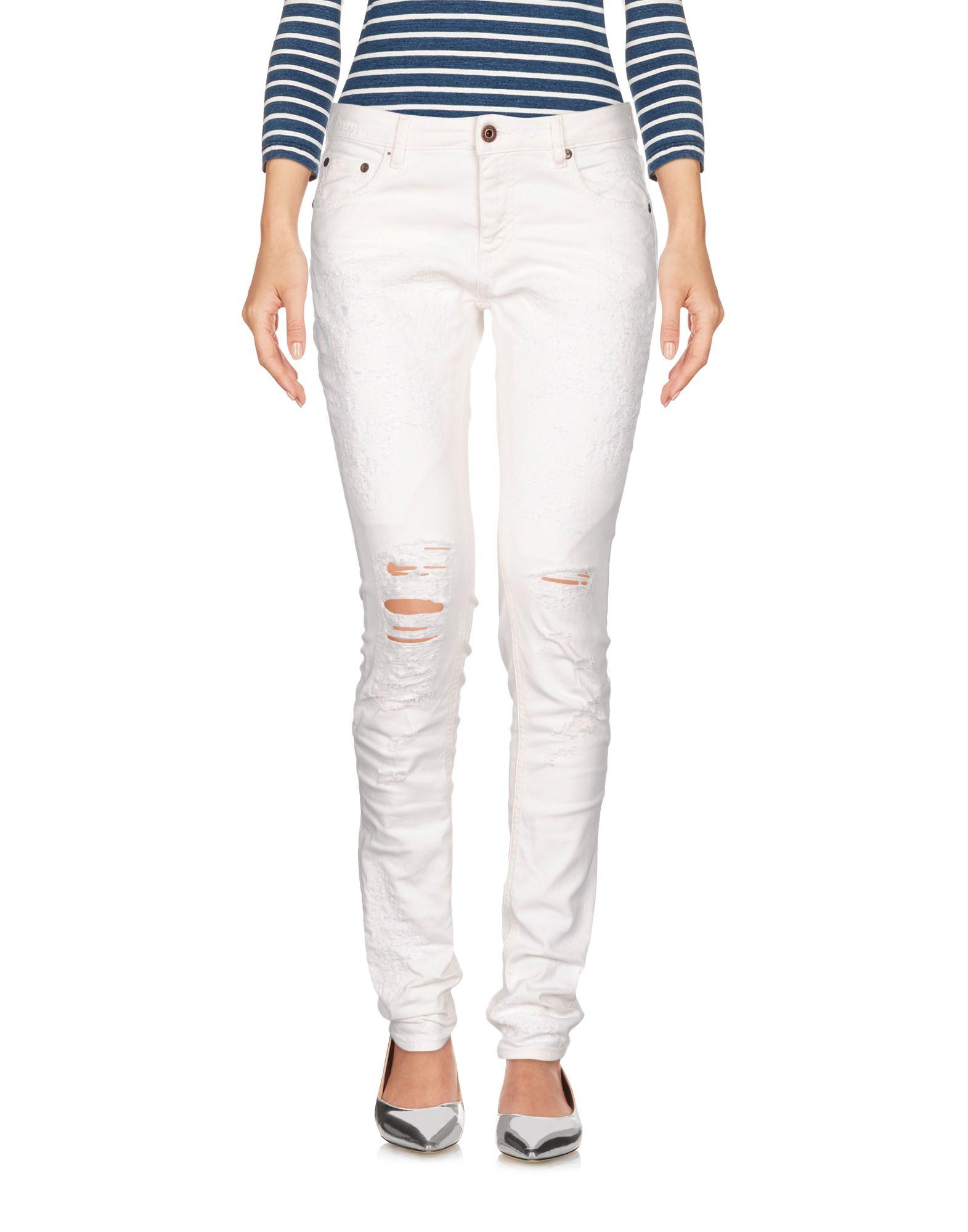 Femmes Jean Pantalon Femmes Jean Blanc Blanc Jean Pantalon Pantalon WD2E9HI