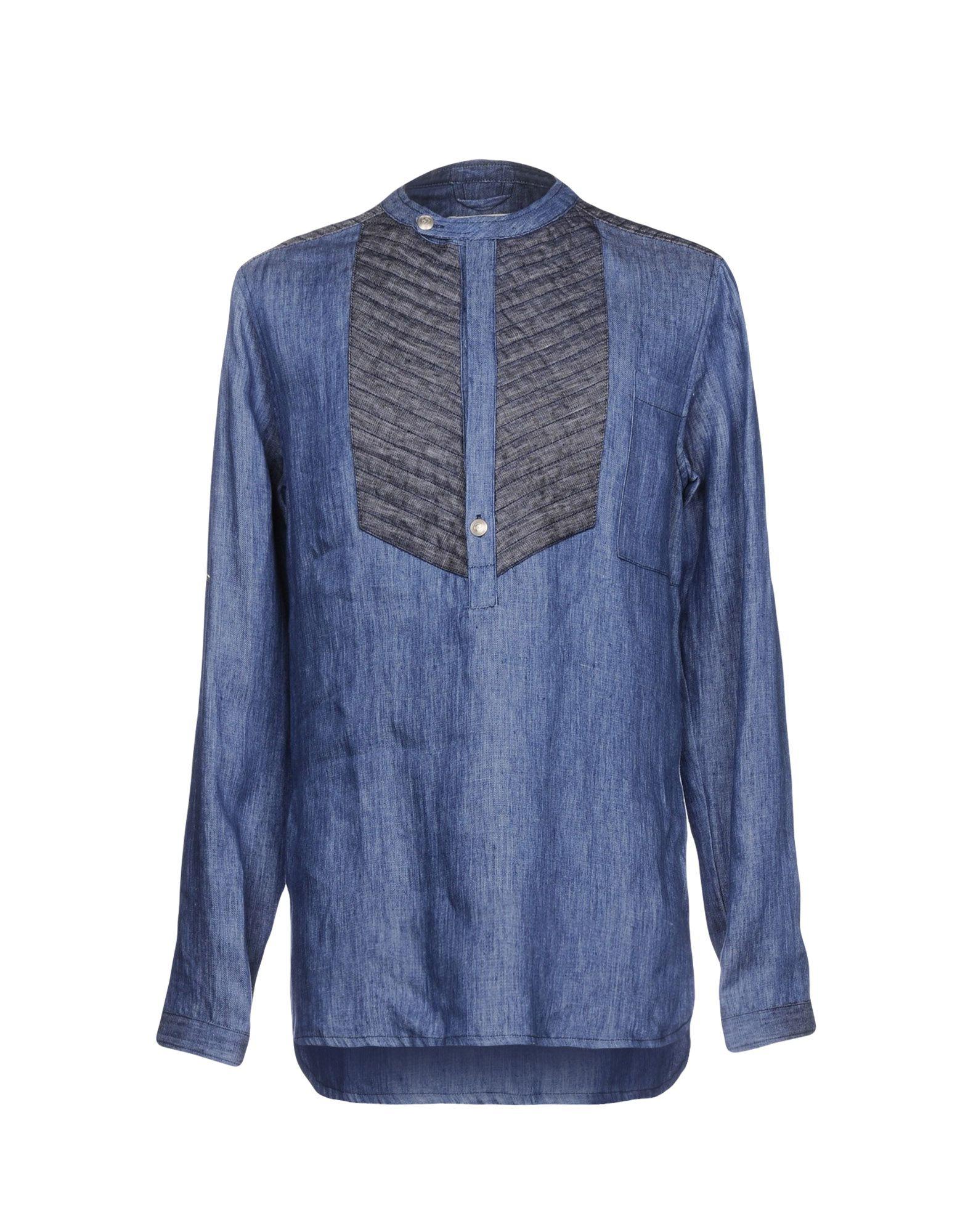 Camicia Jeans Pierre Balmain Uomo - Acquista online su