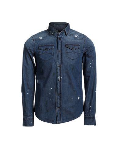 Armani Jeans Denim Shirt Men Armani Jeans Denim Shirts Online On