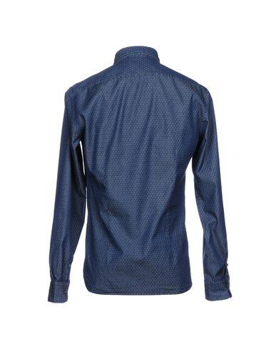 Aglini Denim Shirt klaring engros-pris 3HlUea