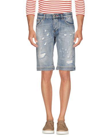 PHILIPP PLEIN - Shorts vaqueros