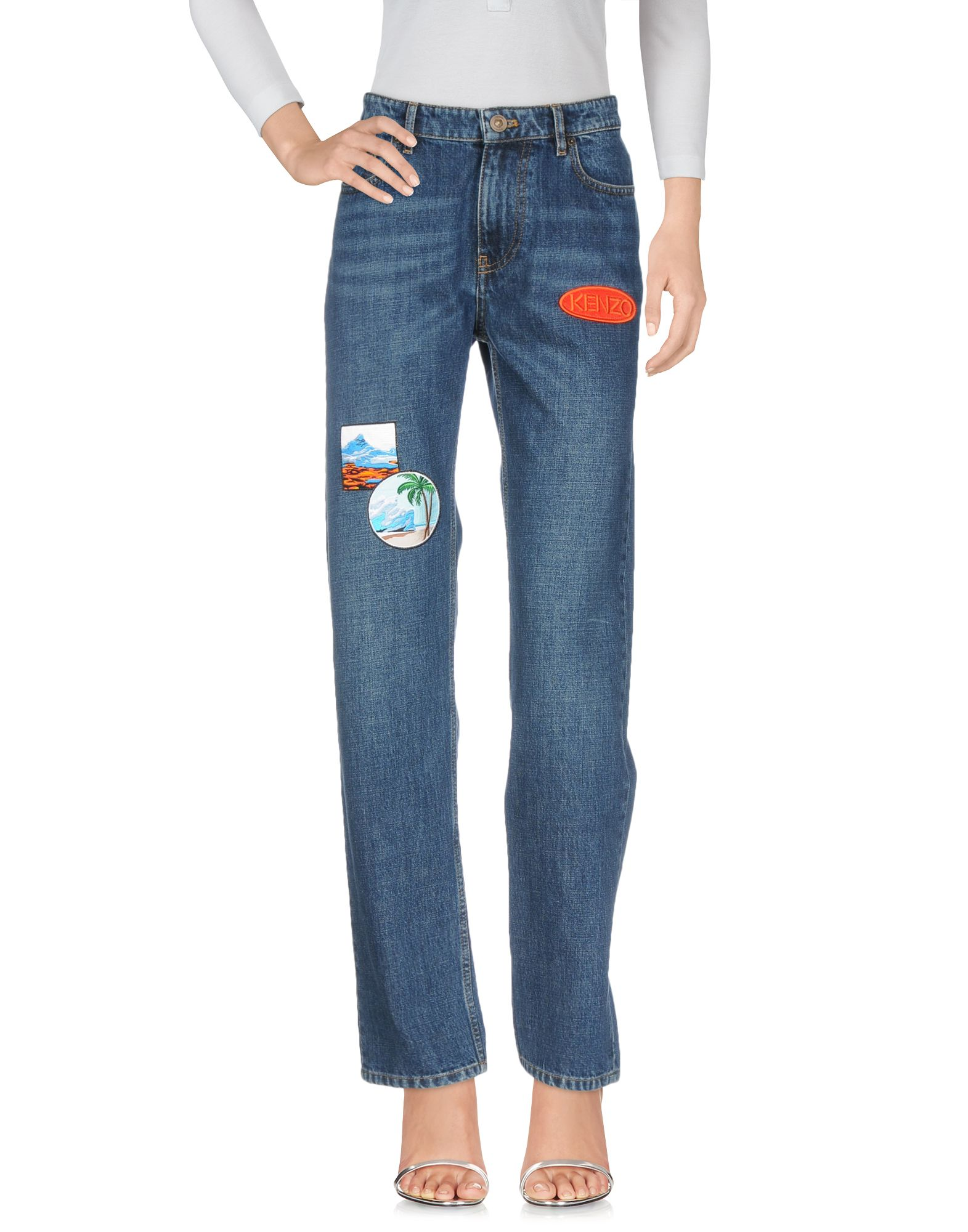 Pantaloni Jeans Kenzo Donna - Acquista online su aHLDrKek