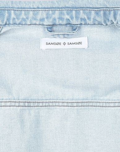 SAMSØE Φ SAMSØE LAUST JACKET 9808 Cazadora vaquera