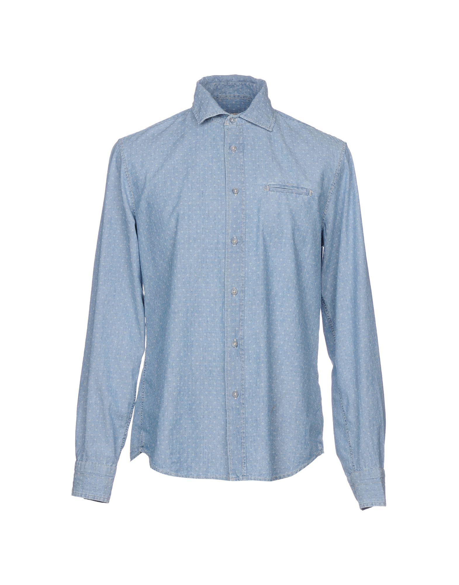 Camicia Jeans - Gas Uomo - Jeans 42664345PO f5a9ff