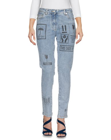 MOSCHINO - Denim trousers