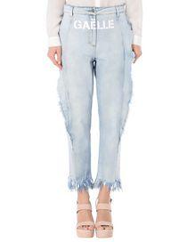 Pantaloni Jeans Gaëlle Paris Jeans +Stampa Donna