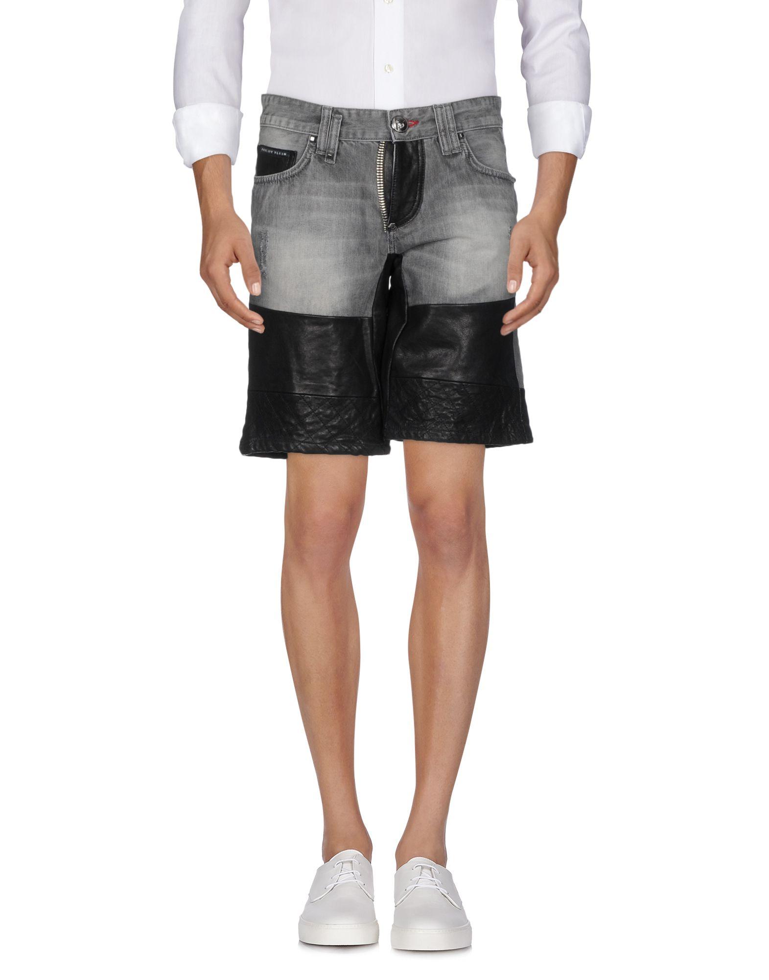 Shorts Jeans Philipp Plein Uomo - Acquista online su
