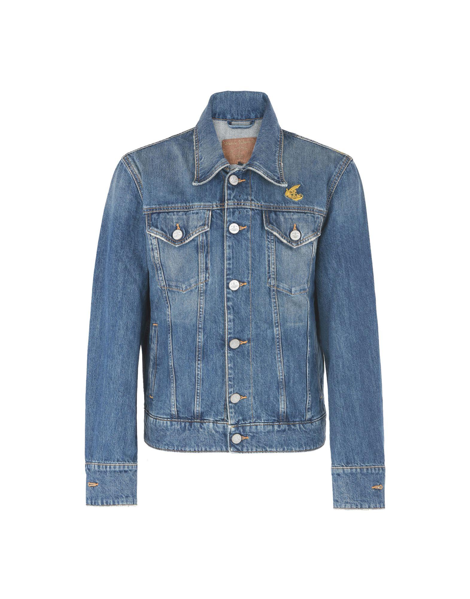 Vivienne Westwood Anglomania New D. Ace Jacket - Denim Jacket - Men ... 3d0e92cc8