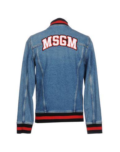 MSGM Jeansjacke Klassische Online-Verkauf Rote Vorbestellung Eastbay Spielraum 2018 Insbesondere Rabatt vQFpb