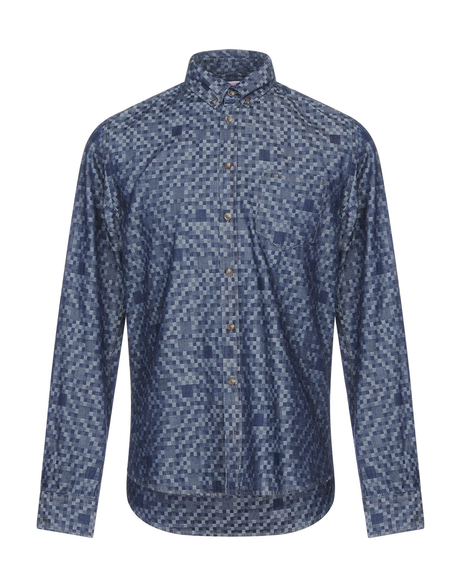 Camicia Di Jeans Sun 68 68 68 uomo - 42668322DG 30c
