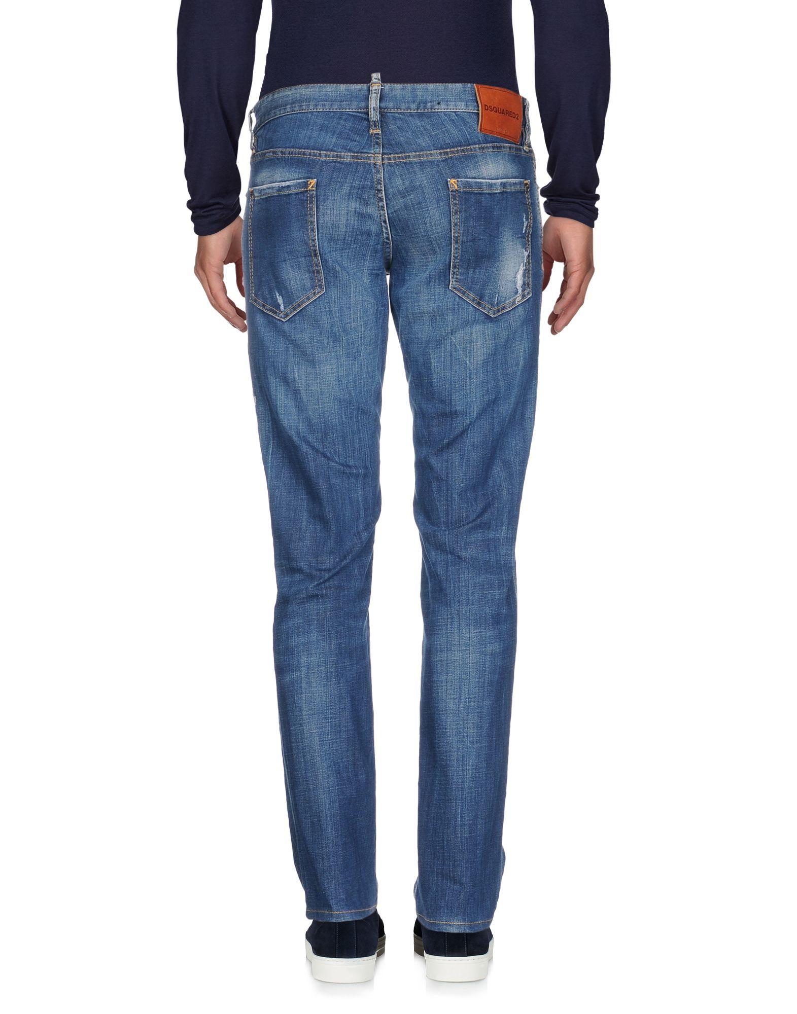 Pantaloni 42668781BD Jeans Dsquarosso2 Uomo - 42668781BD Pantaloni 4d3139